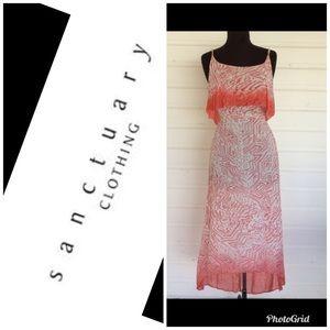 NWT Sanctuary Clothing high low maxi dress